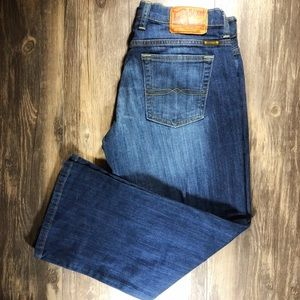 Excellent Condition Lucky Brand Cropped Jeans